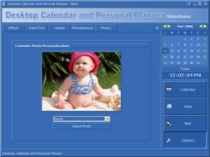 Eshasoft Desktop Calendar and Planner