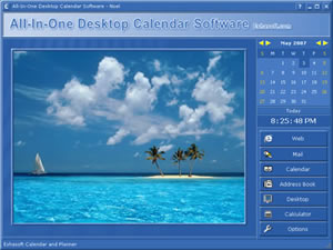 Eshasoft makers of desktop calendar software for Computer planner software